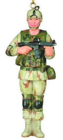 Army Soldier Christmas Ornament