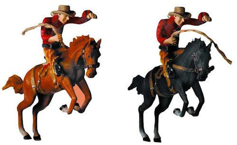 Rodeo Rider Christmas Ornament (Set of 2)