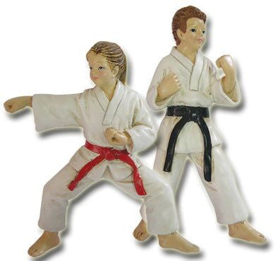 Karate Christmas Ornament (Set of 2)