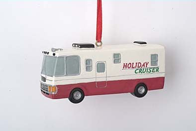 Holiday Cruiser RV Christmas Ornament
