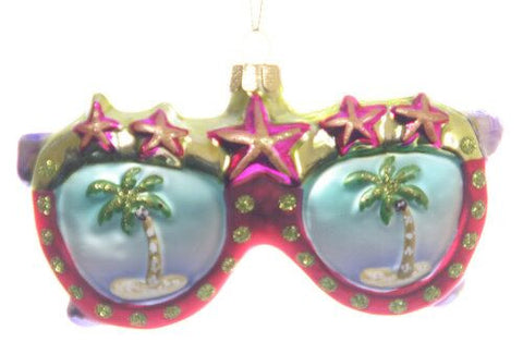 Sun glasses Christmas Ornament