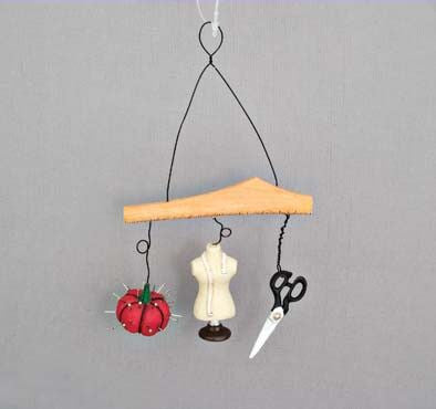 Sewing Equipment Christmas Ornament