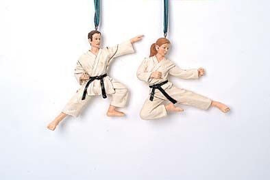 Katate Christmas Ornament (Set of 2)