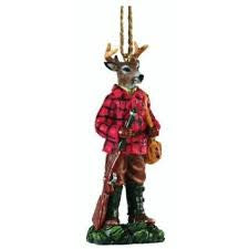 Gentleman Buck Hunting Christmas Ornament