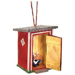 Outhouse Christmas Ornament