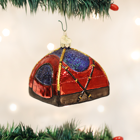 Dome Tent Christmas Ornament