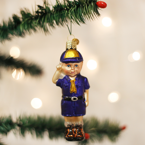 Lil' Scout Christmas Ornament