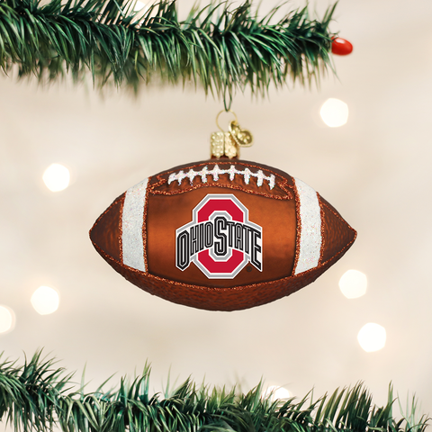 Ohio State Football Christmas Ornament