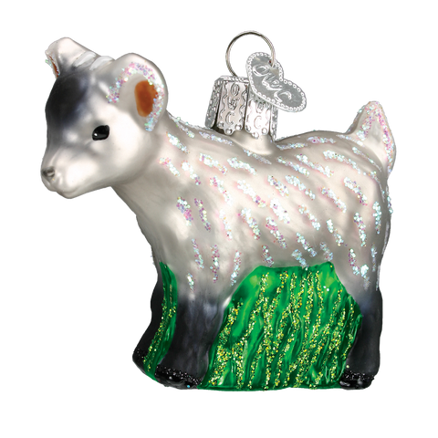 Pygmy Goat Christmas Ornament
