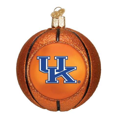 Kentucky Basketball Christmas Ornament