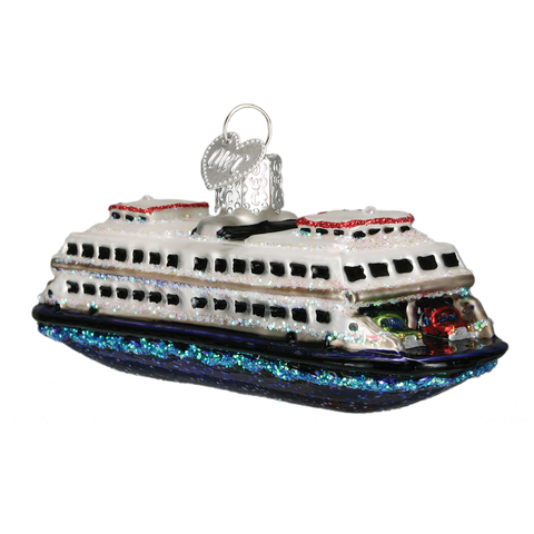 Ferry Boat Christmas Ornament