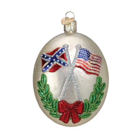Civil War Christmas Ornament