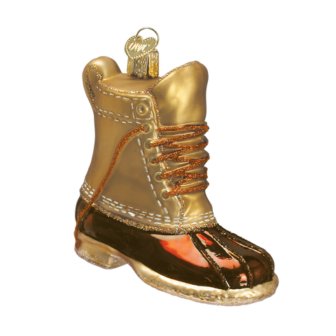 Boot Christmas Ornament