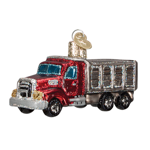 Dump Truck Christmas Ornament