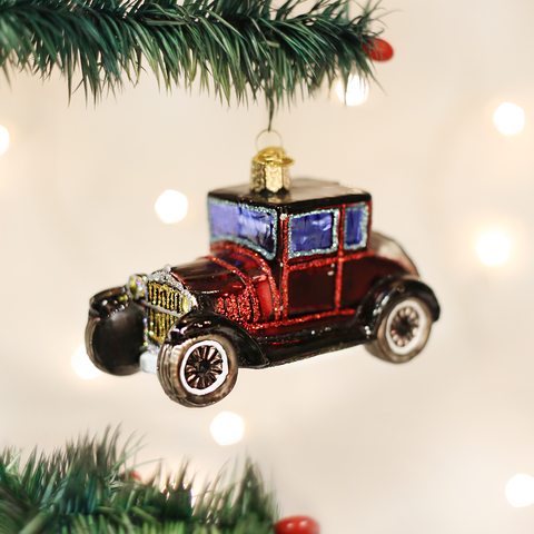 Model T Coupe Christmas Ornament