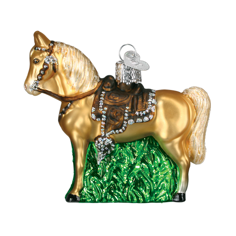 Western Horse Christmas Ornament