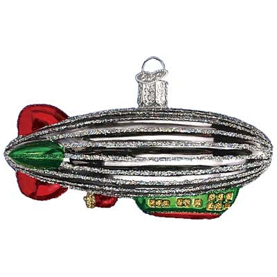Zeppelin Christmas Ornament