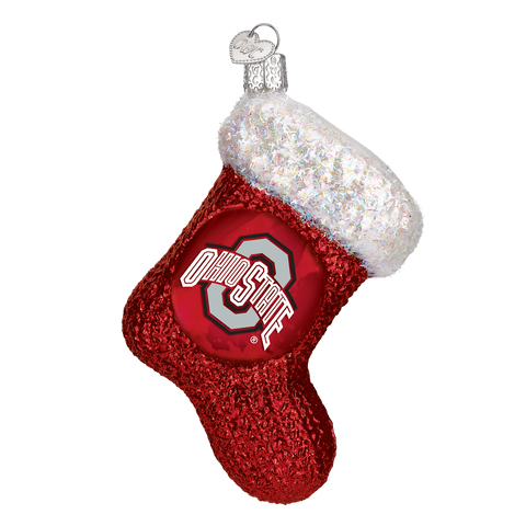 Ohio State Stocking Christmas Ornament