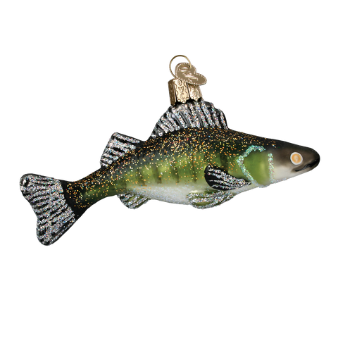 Walleye Christmas Ornament