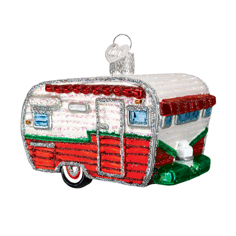 Travel Trailer Christmas Ornament