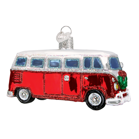 Camper Van Christmas Ornament
