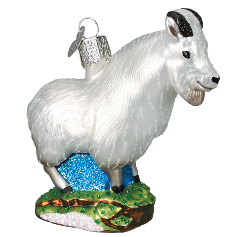 Mountain Goat Christmas Ornament