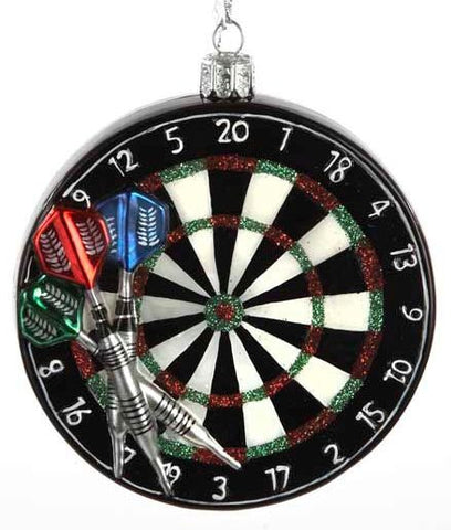Dartboard Christmas Ornament