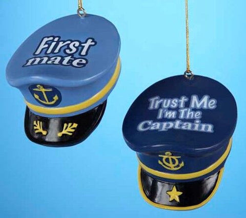 Captain's Hat Christmas Ornament