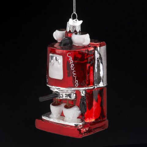Expresso/Cappuccino Machine Christmas Ornament