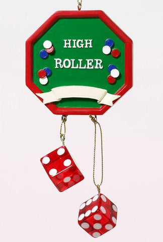 High Roller Christmas Ornament