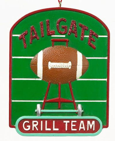 Tailgate Grill Team Christmas Ornament