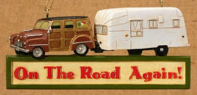 Family RV Christmas Ornament