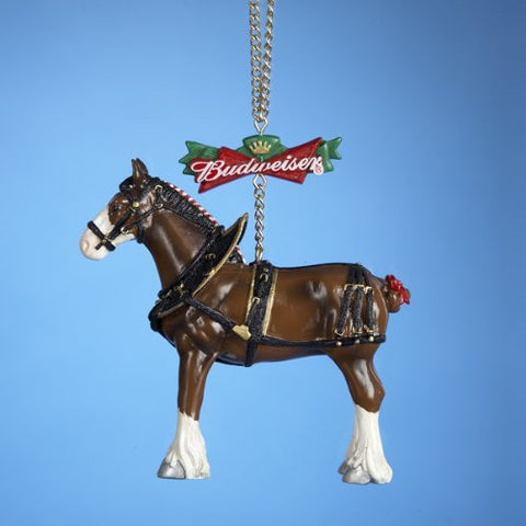 Budwiser Clydesdale Christmas Ornament