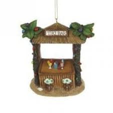 Tiki Bar Christmas Ornament