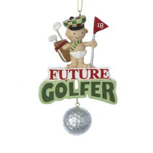 """Future Golfer"" Christmas Ornament"