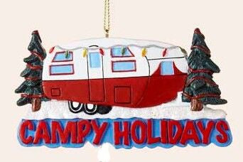 Campy Holidays Christmas Ornament