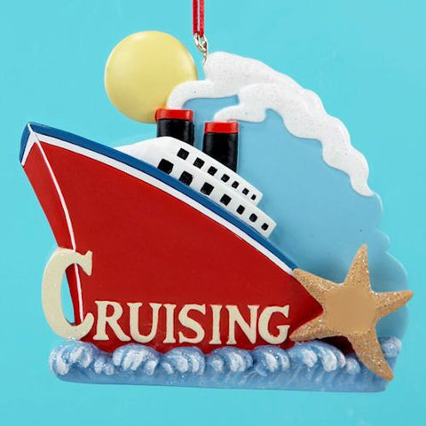 Cruising Christmas Ornament