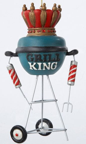 Grill King Christmas Ornament