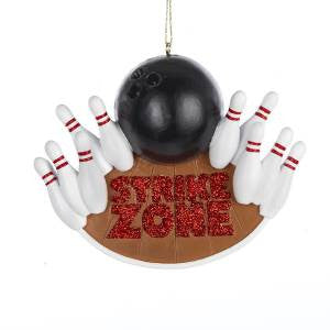 Strike Zone Christmas Ornament
