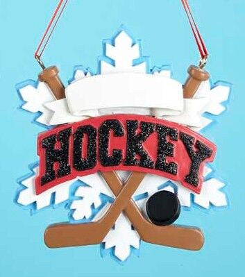 Hockey Equipment Christmas Ornament