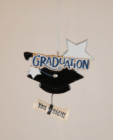 Graduation You Did It Christmas Ornament
