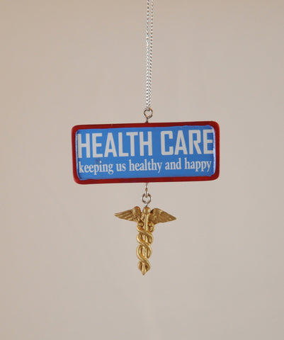 Health Care Christmas Ornament