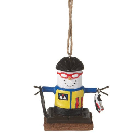 S'more Bicycle Christmas Ornamant