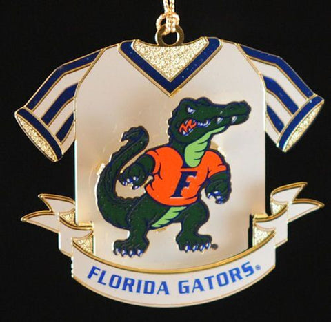 Florida Gators Jersey Christmas Ornament