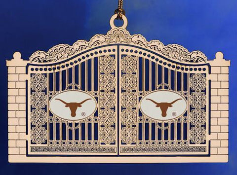 Texas Gates Christmas Ornament