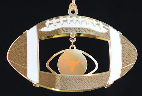 Texas Football Christmas Ornament