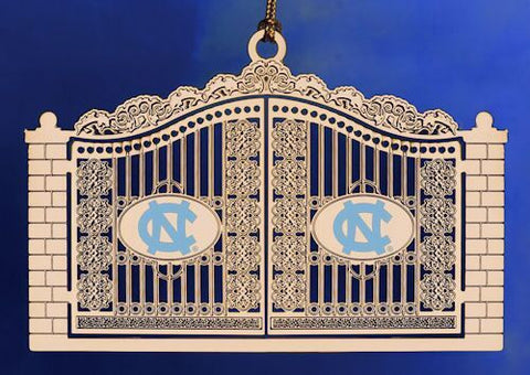 North Carolina Gates Christmas Ornament