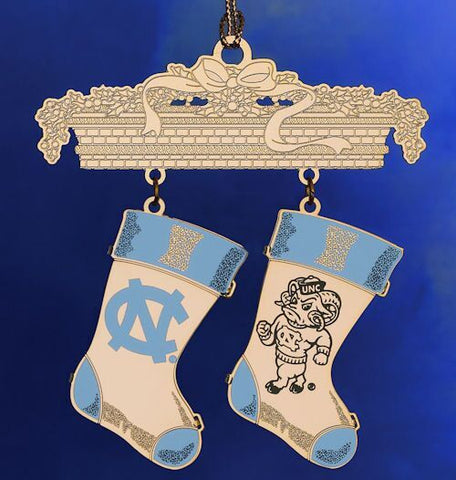 North Carolina Stockings Christmas Ornament