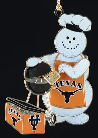 Texas Tailgater Christmas Ornament