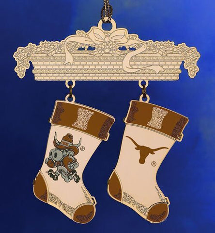 Texas Stocking Christmas Ornament